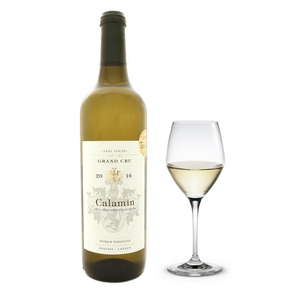 Calamin wine bottle