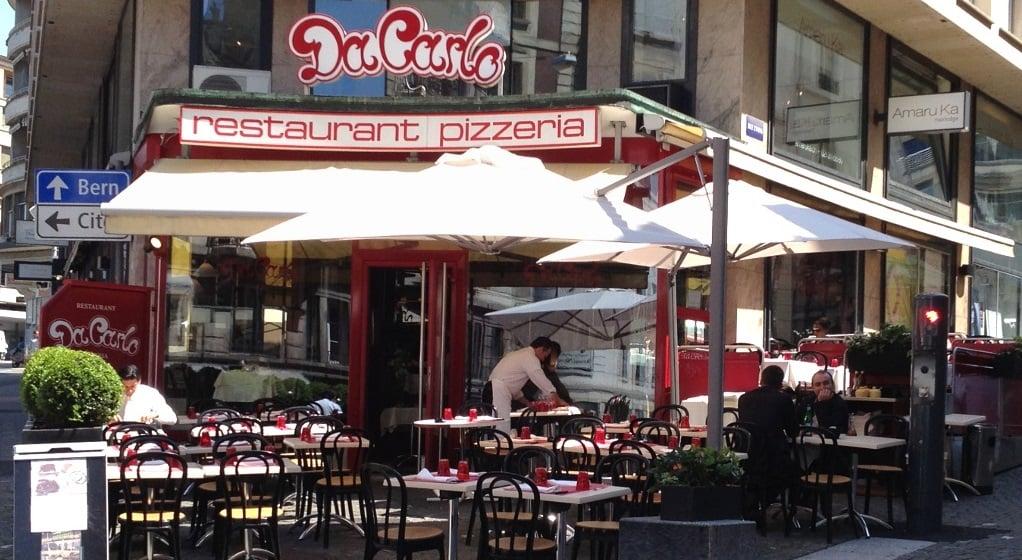 outdoor of the pizzeria Da Carlo