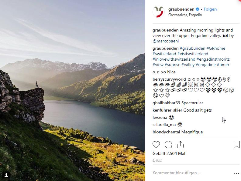 Instagram-Engadin-Graubunden