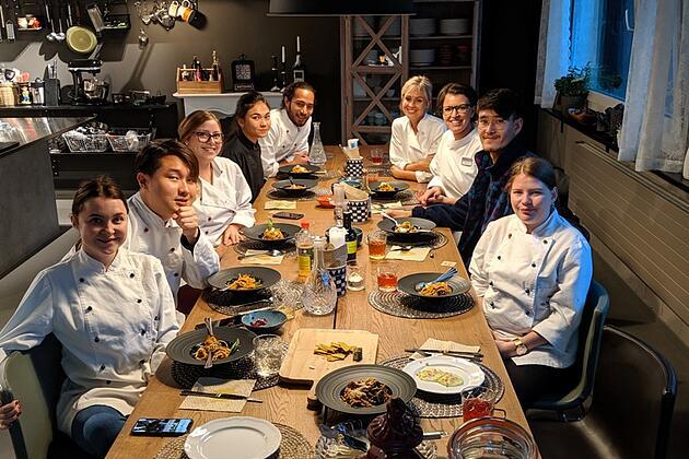 SSTH Culinary Arts Class in Raw Food Workshop