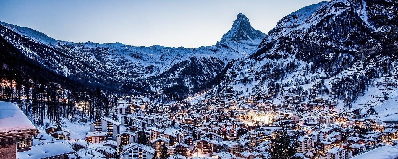 Swiss ski resort