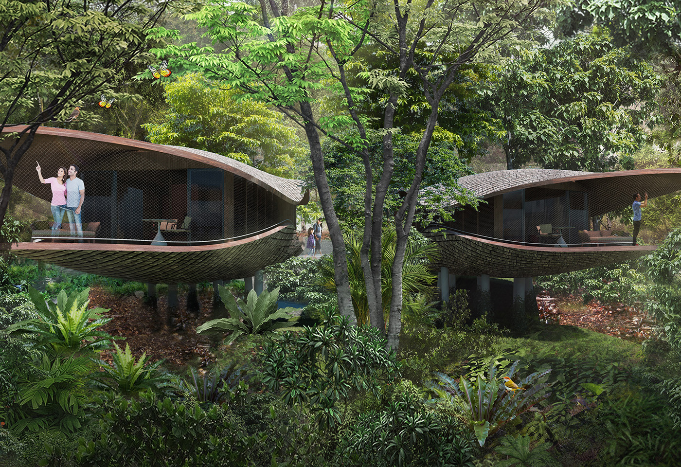Vacationing in a Tree House? Why Singapore Hotels are Tapping Into Biophilic Design.